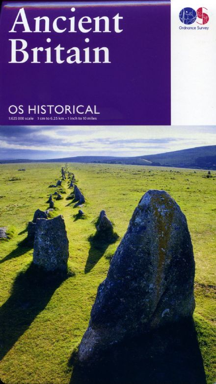 Ancient Britain Ordnance Survey Historical Map